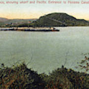 Panama Canal La Boca Art Print