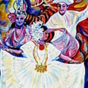 Panama Carnival. Fiesta Art Print