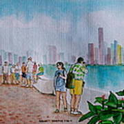 Panama City Panama Art Print