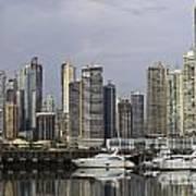 Panama City Skyline Panama Art Print