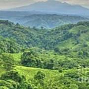 Panama Landscape Art Print