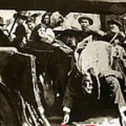 Pancho Villa Ambushed July 20 1923 1923 Dodge Touring Car 1923-2013 Art Print
