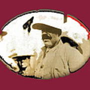 Pancho Villa   Portrait Unknown Mexico Location And Date-2013  Art Print