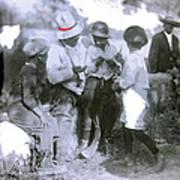 Pancho Villa With Children #1  Durango C. Art Print
