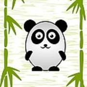 Panda - Animals - Art For Kids Art Print