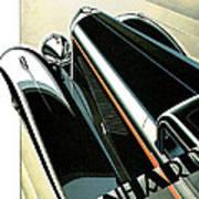 Panhard Car Advertisement Art Print