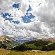 Panorama Atop Independence Pass Art Print