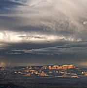 Panorama Clearing Summer Storm Bryce Canyon National Park Utah Art Print
