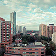 Panorama-dt-toronto Looking East Art Print