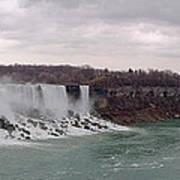 Panorama - Niagara Falls Art Print