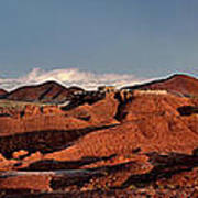 Panorama Of Goblin Valley State Park Utah Art Print