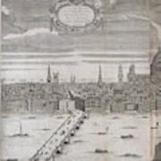 Panorama Of London Art Print