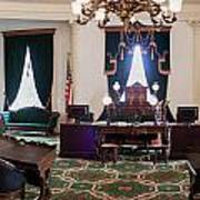 Panorama Of The Vermont State House Montpelier Vermont Art Print