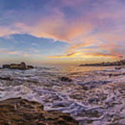 Panorama The Whole Way Round The Cove Art Print
