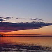 Panorama - Toronto Sunrise In June  Art Print