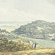 Panoramic After View, From The Red Book Art Print