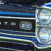 panoramic blue GTO Art Print