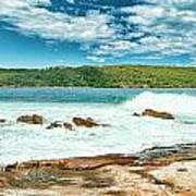 Panoramic Photo Of La Perouse Art Print