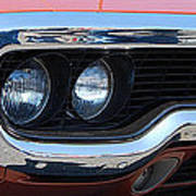 panoramic Plymouth GTX Art Print