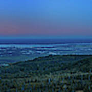 Panoramic View Overlooking Anchorage Art Print