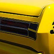 Panoramic Yellow Duster Art Print