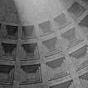 Pantheon Ceiling Art Print