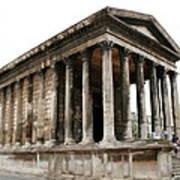 Pantheon Nimes Art Print