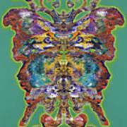 Papalotl Series Vlll Art Print