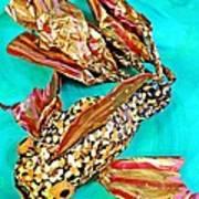 Paper Fish Art Print
