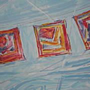 Paper In The Wind 2010 Art Print