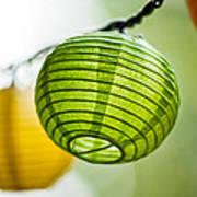Paper Lanterns Art Print