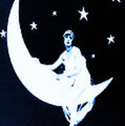 Paper Moon Art Print