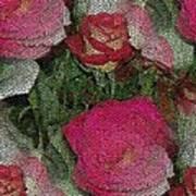 Paper Roses Art Print