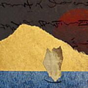 Paper Sail Art Print by Carol Leigh