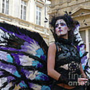 Papillion Femme Art Print