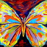 Papillon Colore Art Print