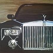 Par De Elegance Rolls Royce Phantom Art Print