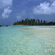 Paradise Island 1 Art Print