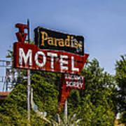 Paradise Motel Art Print