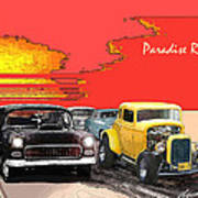 Paradise Road Art Print by Barry Cleveland