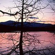 Paradox Lake Sunset II Art Print