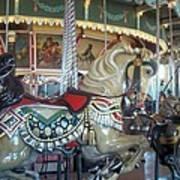 Paragon Carousel Nantasket Beach Art Print