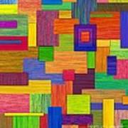 Parallelograms Art Print