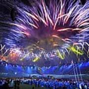 Paralympics 2012 Closing Ceremony Art Print