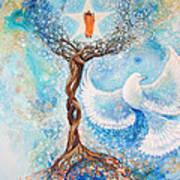 Paramhansa Yogananda - Mist Art Print