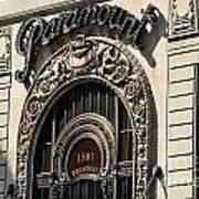 Paramount - Broadway - Nyc Art Print