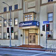 Paramount Movie Studio Hollywood Ca Art Print
