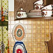 Parental Home 01 - Kitchen Detail Art Print
