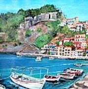 Parga In Greece Art Print
