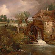 Parham Mill Art Print
